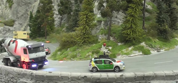 Google Street View: 'miniatuurwereld' Wunderland op geweldige manier in beeld gebracht