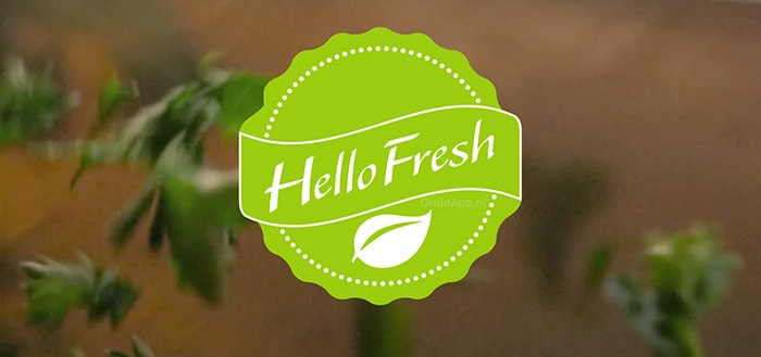 HelloFresh app uitgebracht voor Android; toegang tot alle recepten