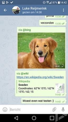 Telegram Inline Bots