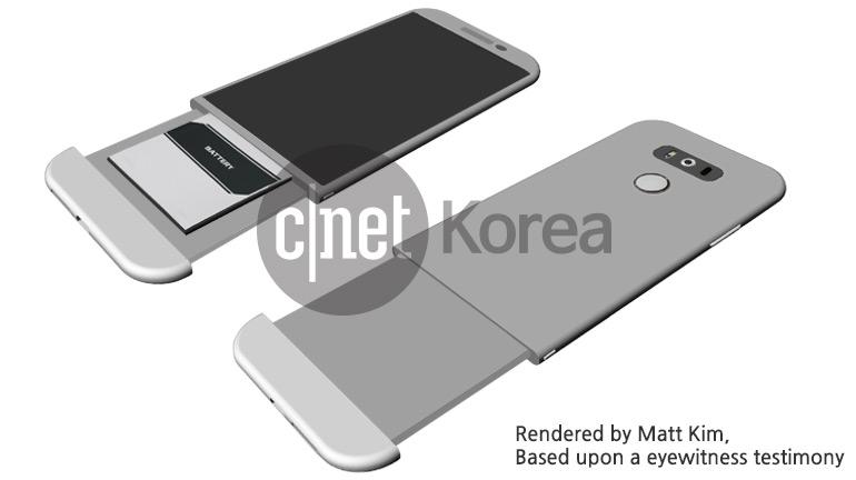 LG G5 render accu