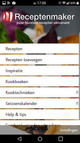 Receptenmaker app 7.0