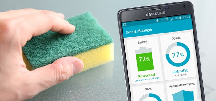 Samsung Smart Manager: wat is app optimalisatie?