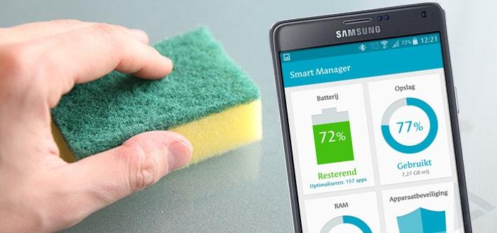 Samsung Smart Manager: wat is app optimalisatie?