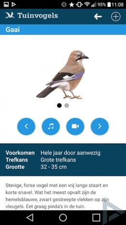 Vogelbescherming app
