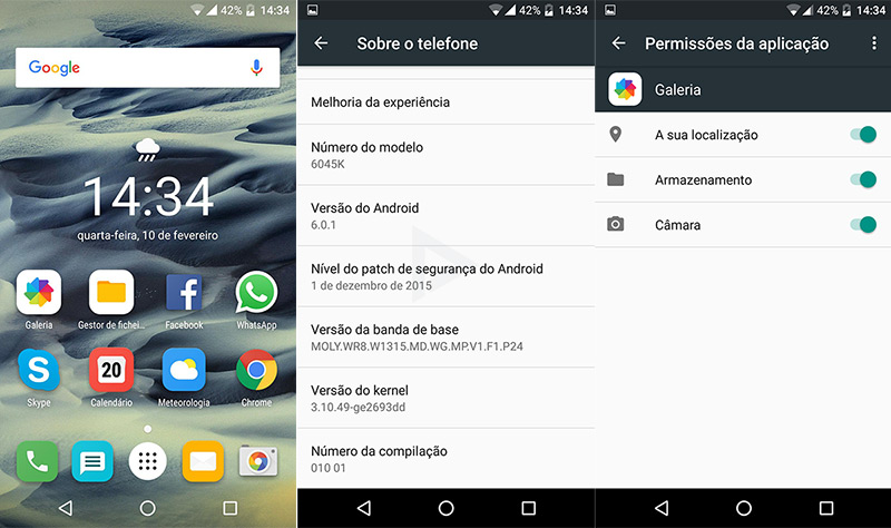 Alcatel OneTouch Idol 3 Marshmallow