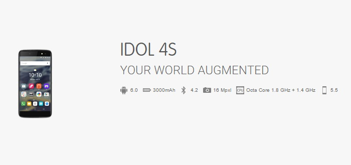 Specificaties onaangekondigde Alcatel OneTouch Idol 4 en Idol 4S verschijnen online