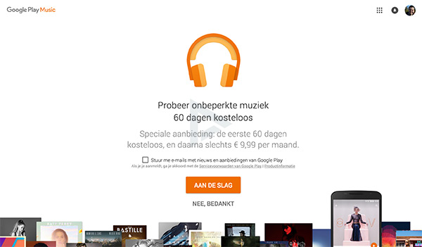 Play Music All Access gratis