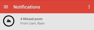 Google Plus gemiste berichten