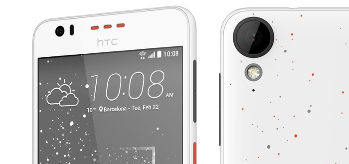HTC introduceert HTC Desire 825 en Desire 530 met 'Splash' design