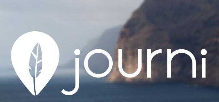 Journi: je sociale dagboek voor op reis