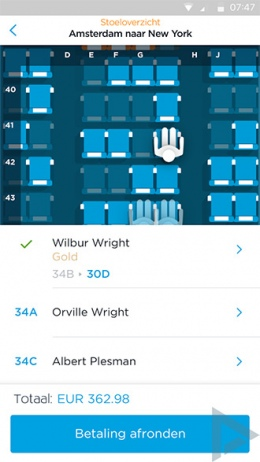 KLM app 7.0