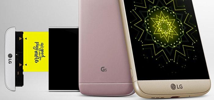 LG G5 officieel gepresenteerd: alles wat je moet weten over deze vernieuwende smartphone