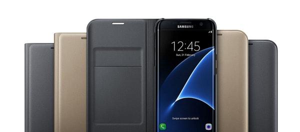 Samsung Galaxy S7 Edge Flip Wallet