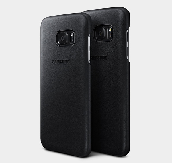 Samsung Galaxy-S7 Leather Cover