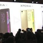 Sony Xperia X-serie aangekondigd: metalen smartphones met geavanceerde camera