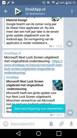 Telegram 3.6
