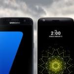 De vergelijking: Samsung Galaxy S7, LG G5, Sony Xperia X en Huawei Nexus 6P