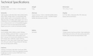 Alcatel Idol 4 specificaties