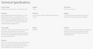 Alcatel Idol 4S specificaties