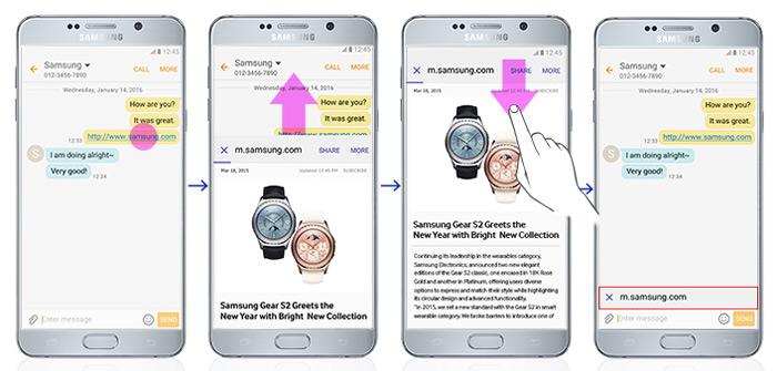 Samsung Cross App