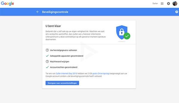 Google Drive gratis opslagruimte