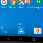 Google Maps promo toont Android zonder app drawer