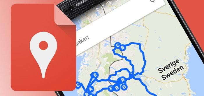 Google My Maps laat je na 3 jaar eindelijk lijnen tekenen
