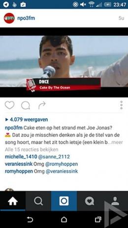 instagram video weergaven