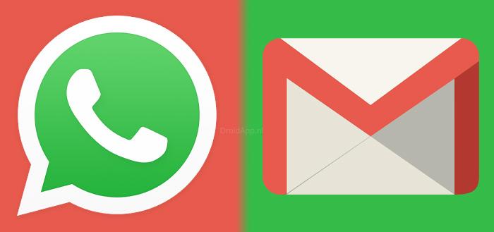 WhatsApp en Gmail tellen 1 miljard actieve gebruikers: 1 op de 7 mensen gebruikt het
