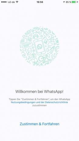 WhatsApp welkom