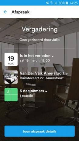 Datumprikker app