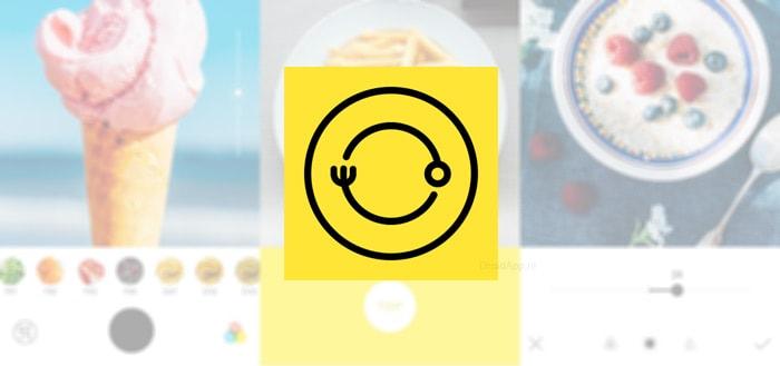 Foodie: een uitgebreide camera-app voor voedsel-foto's