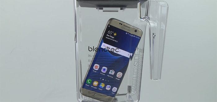 Will It Blend?: De Samsung Galaxy S7 Edge in de blender