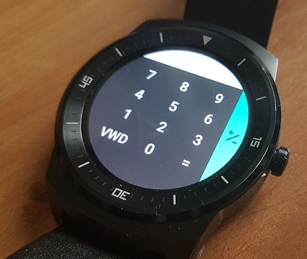 Google Calculator Android Wear