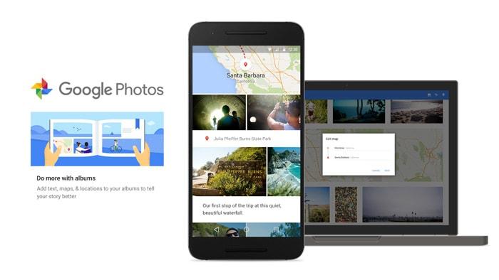 Google Foto's slimme albums