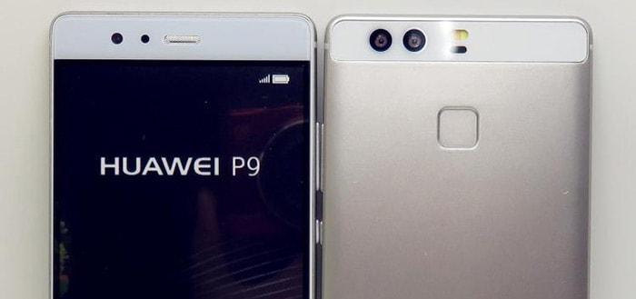 Huawei P9 laat zich zien in fotoshoot
