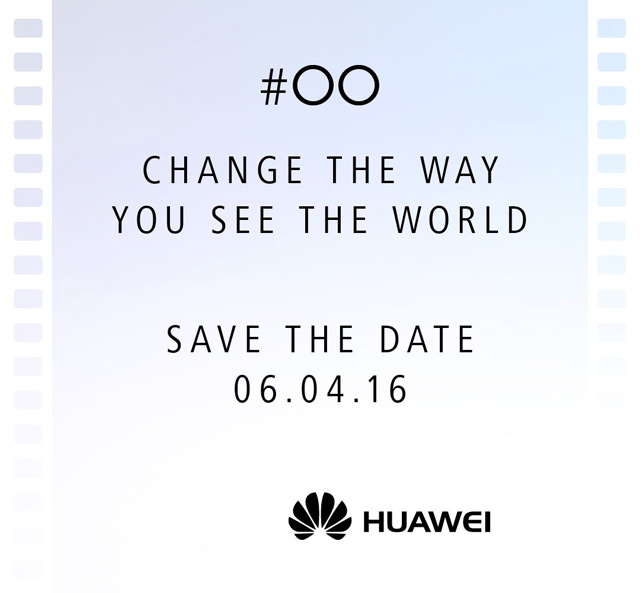 Huawei P9 uitnodiging