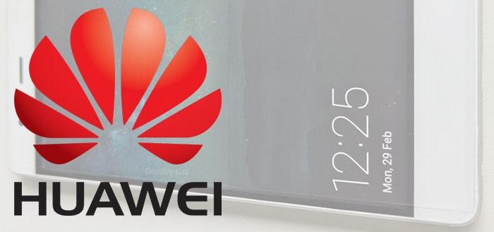 Huawei wil volgend jaar opvouwbare smartphone op de markt brengen