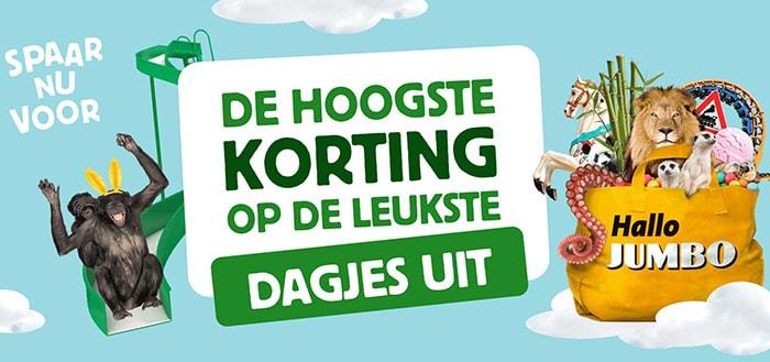 Jumbo Dagjes Uit app: verzilver je munten voor korting op een dagje uit