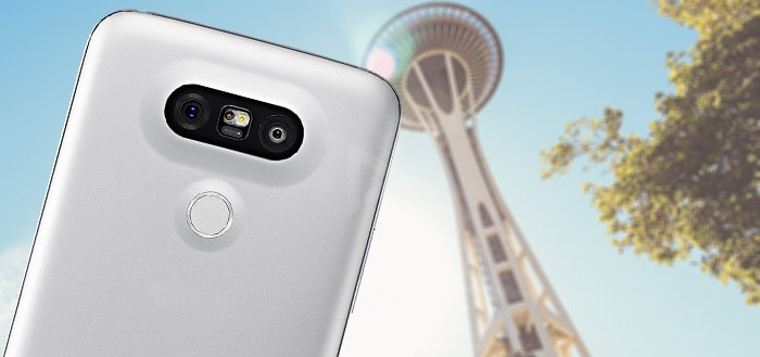 LG G5: video-demo in 4K en download de 21 wallpapers