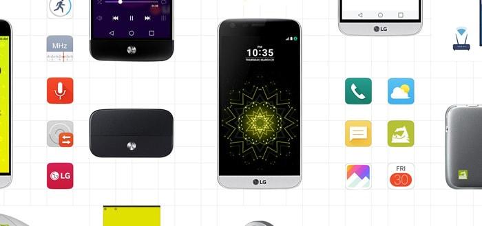 LG G5: modulaire smartphone vanaf vandaag verkrijgbaar