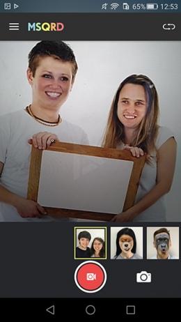 MSQRD face swap