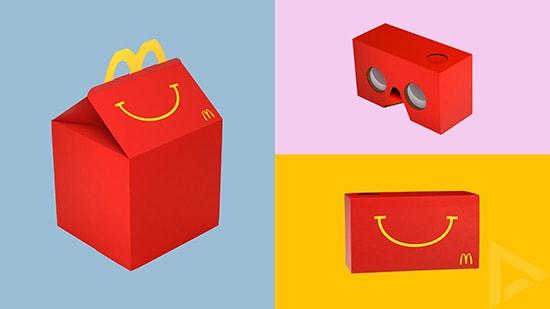 McDonald's VR-Bril