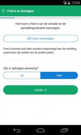 MobielSchadeMelden app