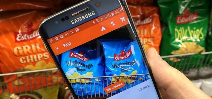 Onbemande supermarkt laat je binnenkomen en afrekenen met smartphone