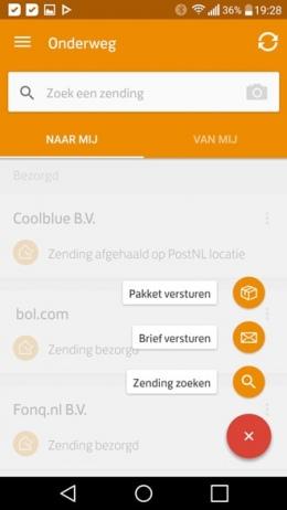 PostNL app 3.11