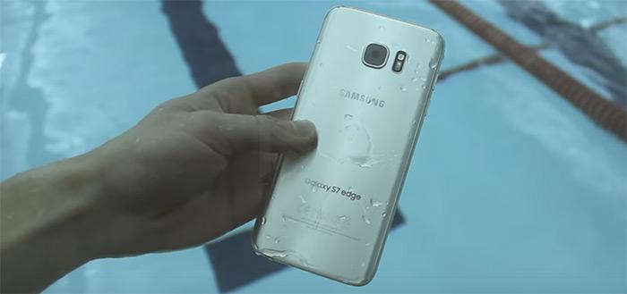 Video: zwemmen met de waterbestendige Samsung Galaxy S7 (Edge)