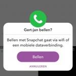 Snapchat bellen