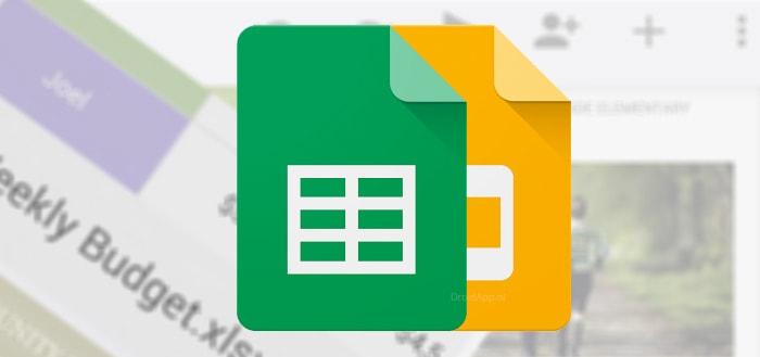 Handig: Google Spreadsheets en Presentaties met ondersteuning voor meer bestandsformaten