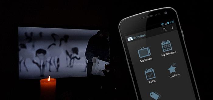 TV Show Favs: een onmisbare app voor de liefhebbers van series